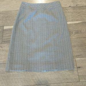 Antonio Melani Pinstriped Skirt Size 4